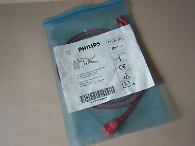 Philips M1363A MECG Adapter Cable, Reusable Leadset