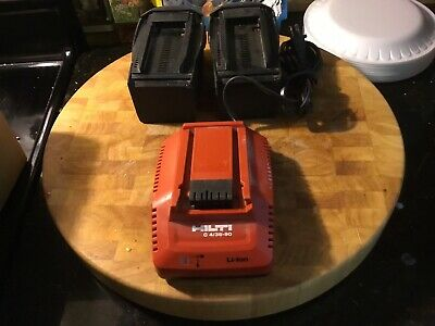 2 Hilti 36v 3.0 Li Ion Batteries With Charger