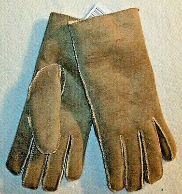 Brown Suede Gloves No Combined Shipping Discounts Fits Most New