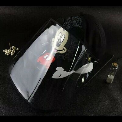 Mickey Mouse Face Shield Cap Full Protection Black Color