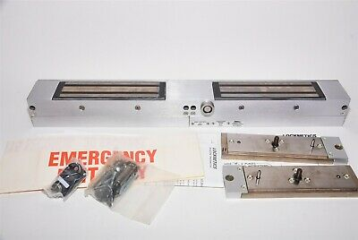 Locknetics 107DB DSM MBS Double Delayed Egress Electromagnetic Door Mag Lock