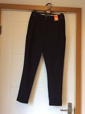 BLACK SCHOOL TROUSERS by MARKS & SPENCER/AGE 11-12 (BNWT)