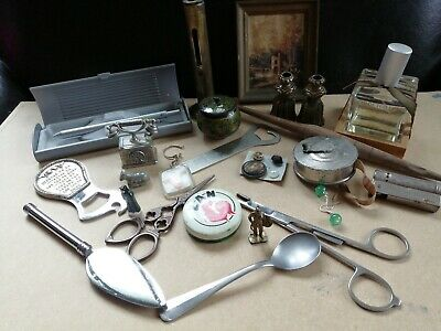 Lot brocante objets anciens