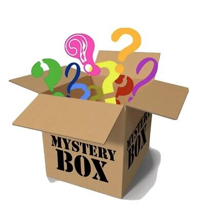 MYSTERY BOX NEW AND USED ELECTRONICS,COMPUTERS,MAGIC TATTOOS,DVDS,IPHONE6s,SHOES
