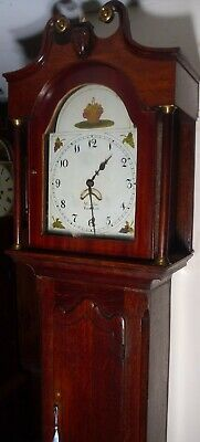 "Antique  Oak ."" Yarmouth  ""  Grandfather / Longcase Clock"