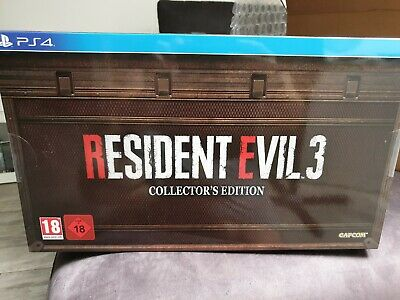 Resident Evil 3 Remake - Collector's Edition PS4 Versione Italiana Preordine