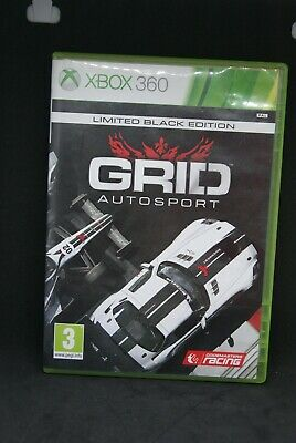 Xbox 360 game - GRID Autosport - limited black edition