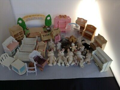 Sylvanian Families Tlc/Spares Bundle - Figures/Furniture And More - Free Post