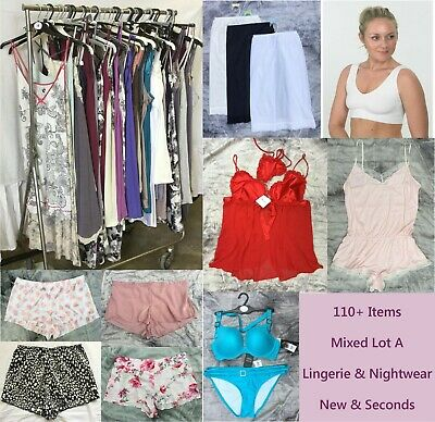 110+ Items In This Mixed Lingerie, Nightwear New & Seconds Wholesale Job Lot (A)