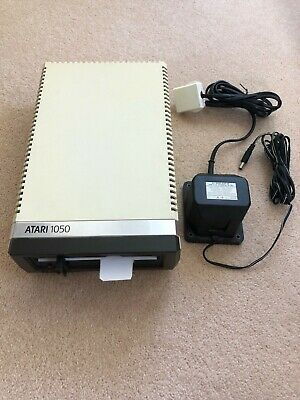 """ATARI 1050 800/XL/XE floppy 5.25"""" Disk Drive Tested/Working with Power Cable"""