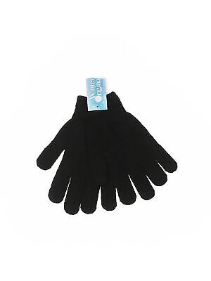 NWT Assorted Brands Women Black Gloves One Size