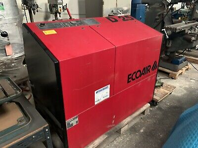 Ecoair D25 Screw Compressor £900 Plus 20% Vat