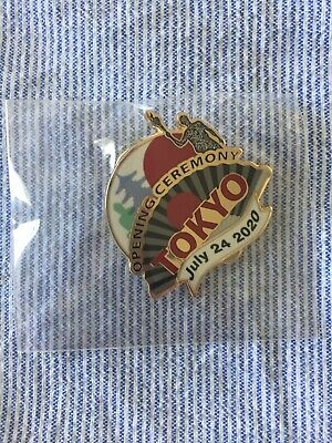 Tokyo Olympics 2020 Opening Ceremony Pin Limited To 1000