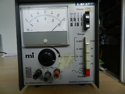 Bench power supply, Marconi TF2155
