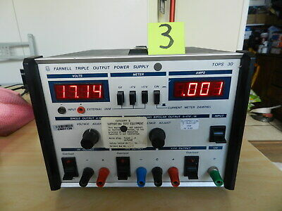 Bench power supply, Farnell Tops 3D, (3)