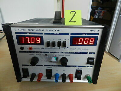Bench power supply, Farnell Tops 3D, (2)