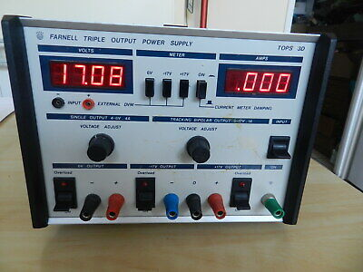 Bench power supply, Farnell Tops 3D