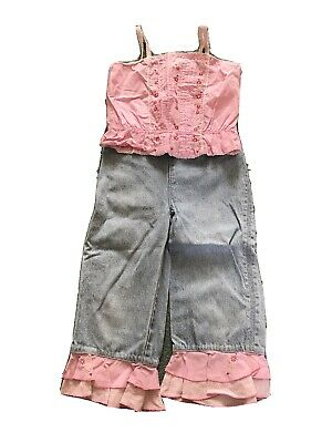 Ladybird Age 3-4 Trouser And Top Set
