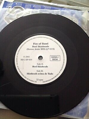 Fist Of Steel Real Skinheads Rare Single In Good Condition