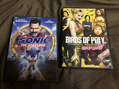 Birds Of Prey And Sonic The Hedgehog DVD