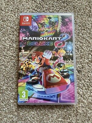 Mario Kart 8 Deluxe for Nintendo Switch / Lite  - Excellent Condition