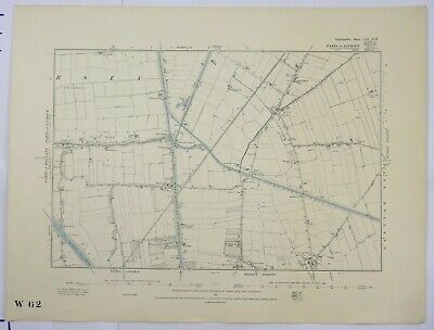 1891 OS 6 inches to a mile Map of Lincolnshire – Cowbridge CIXNW