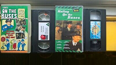 Lwt On The Buses And Mutiny On The Buses Vhs Video