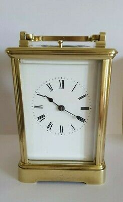 Carriage Clock Repeater  8day Corniche style c1890