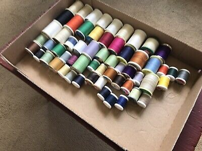 Used Estate Lot 58 Spools Thread!