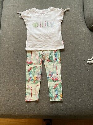 Girls Oilily Set Top Age 5 Leggings Age 4