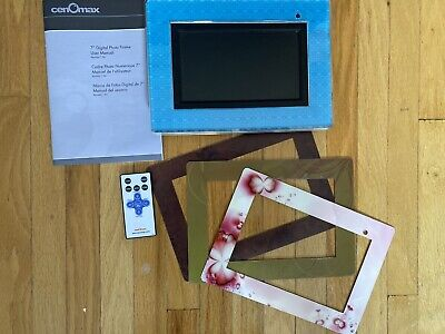 "CenOmax F7024B 7"" Digital Picture Frame"