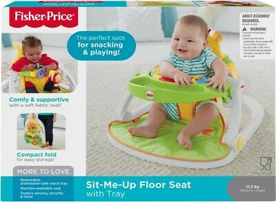 Fisher-Price Giraffe sit-me-up floor seat, portable baby chair or seat...