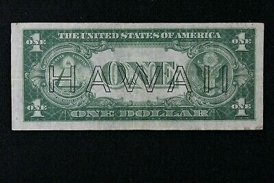 ERROR $1 HAWAII 1935A Brown Seal Silver Certificate S50170532C one $, series A