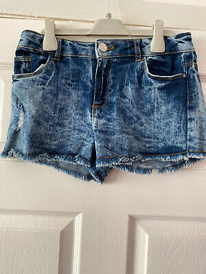 River Island - Girls Denim Shorts Age 11-12
