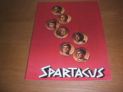 Illustrated story for film of Spartacus