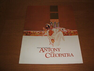 Programme for film of Anthony and Cleopatra