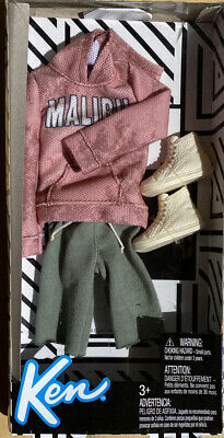 Barbie Ken Malibu And Blue Casual Outfit New Uk Seller Free Post