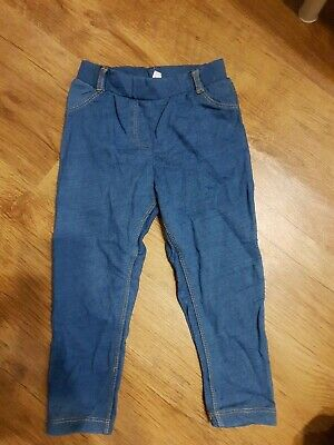 Blaue Jeggings.Gr. 23 Monate (Gr.92)
