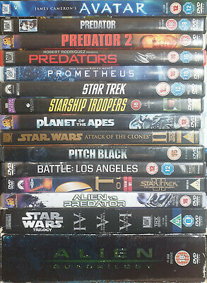 DVD Sci-Fi Bundle / Joblot (20 Films in Total)