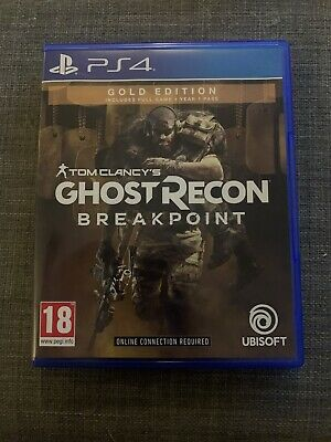 Tom Clancy's Ghost Recon Breakpoint Gold Edition PS4 PlayStation 4 Game pegi 18