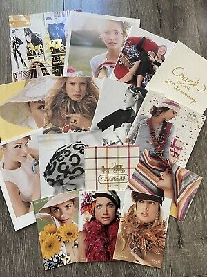 Lot Of Coach Vintage Catalogs From Early 2000's - 15 Total, Excellent Condition