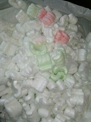13.5 gal UNICORN POO preowned POPCORN PACKING PEANUTS  FAST FREE SHIPping
