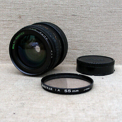 Auto Makinon 2.8 24mm lens with Rokunar 1A filter.