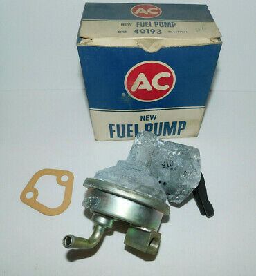 Nos Fuel Pump Gm # 6415961 Fits 1966 Chevelle 396 Exc High Performance