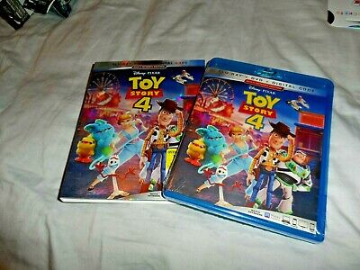 Toy Story 4 Blu-Ray+Dvd+Digital Brand New Sealed With Slipcover