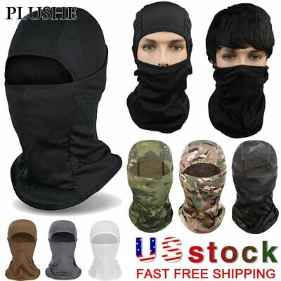 2 Pack Multi-use Breathable Tactical Neck Shield Face Cover Cycling Outdoor Scar