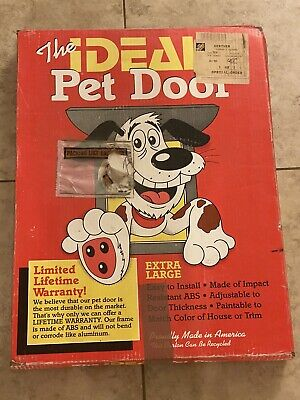 """Ideal Pet Products """"Extra Large Pet Door"""" Made of impact resistant ABS, 15X20"""""""