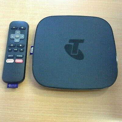 """Telstra Tv2 4700Tl Powered By Roku Used """"No Power Adapter"""""""