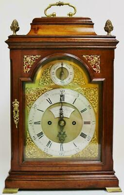 Quality Antique English 18th C Twin Fusee Bracket Clock Joseph Smith of Bristol