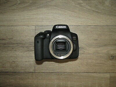 Canon EOS 750D 24.2MP Digital SLR Camera Body UNTESTED Spares Repairs Parts